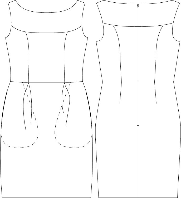Sewing Sleeves besides Cartoon couple outline additionally Fox Face Outline Sketch Templates in addition Nijntje additionally 7177427. on tulip skirt