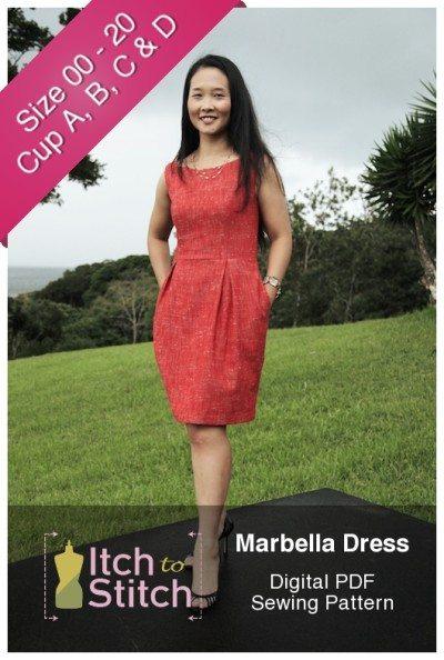 Marbella Dress PDF Sewing Pattern