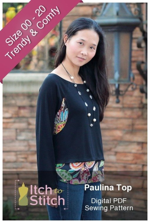 Paulina Top PDF Sewing Pattern Product