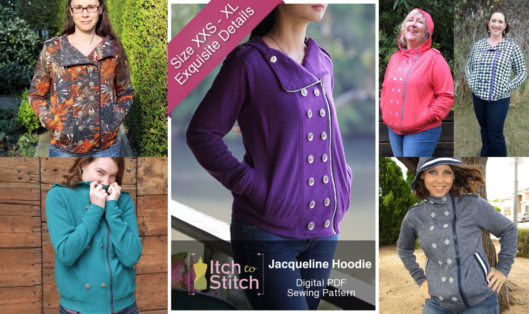 Jacqueline Hoodie Blog Post Featured White Padded