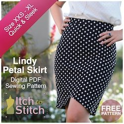 Itch To Stitch Digital Sewing Pattern Lindy Ad 250 x 250