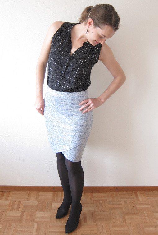 Itch To Stitch Lindy Petal Skirt PDF Sewing Pattern