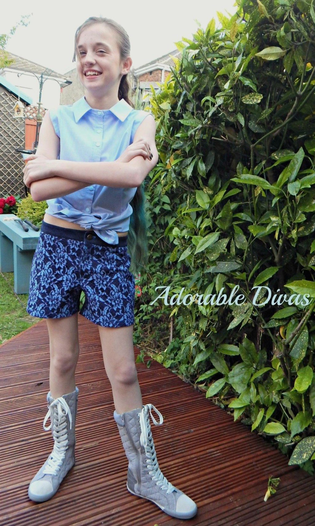 Angelia Shorts PDF Sewing Pattern - View A