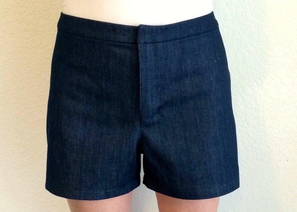 Angelia Shorts PDF Sewing Pattern - View A