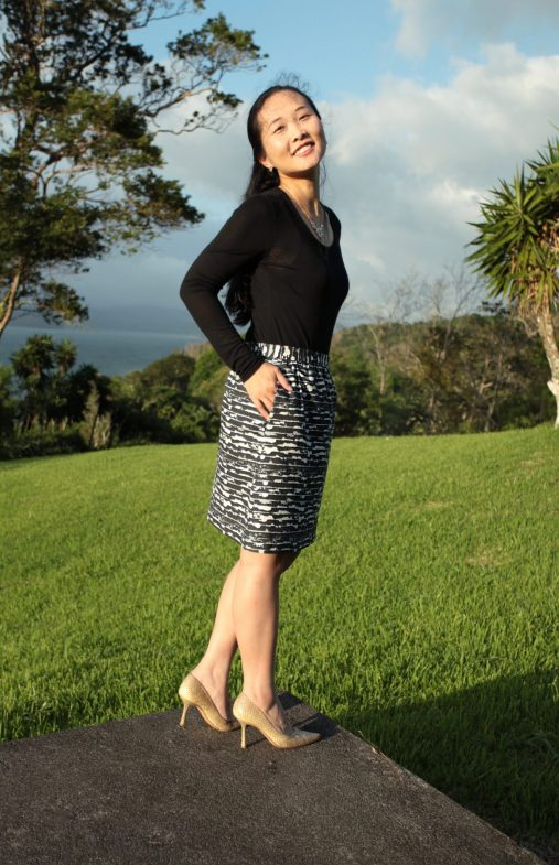Pattern Review - Frankie Skirt by Muffin Head Designs