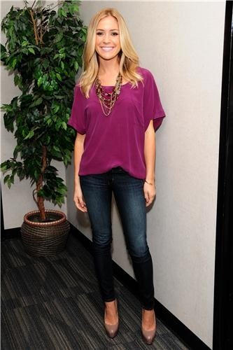 Flowy top by Kristin Cavallari Denim Blog
