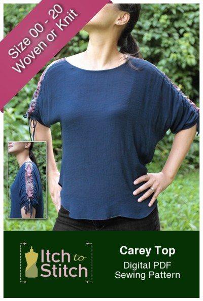 Carey Top PDF Sewing Pattern