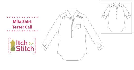 Mila Shirt PDF Pattern Testing Call
