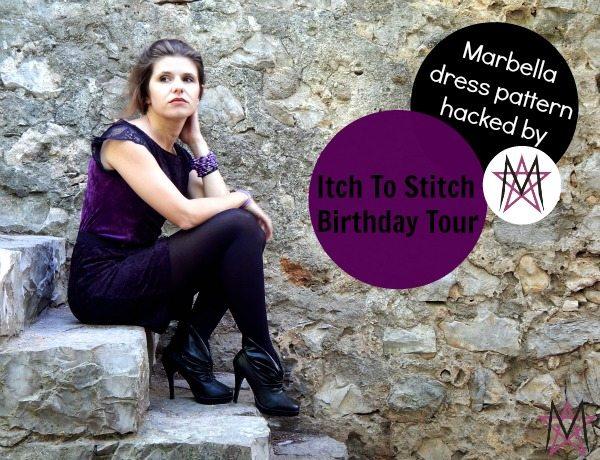 Itch to Stitch Birthday Tour - Magda House of Estrela Marbella Dress