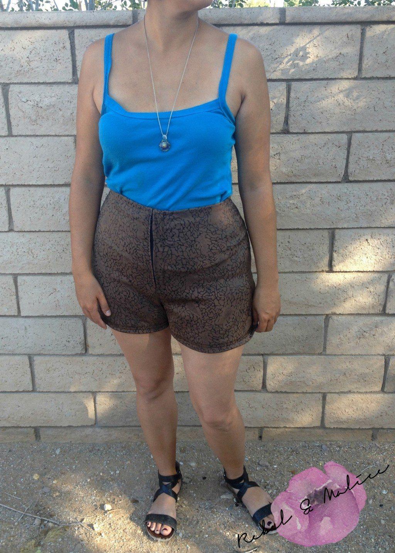 Itch to Stitch Birthday Tour - Rebel and Malice angelia shorts