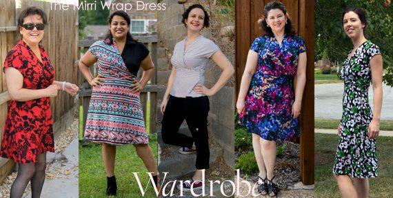 Itch to Stitch Birthday - Wardrobe by Me - Mirri Wrap Dress
