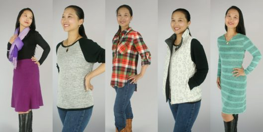 Indiesew Winter Collection 2016 Sewn by Kennis