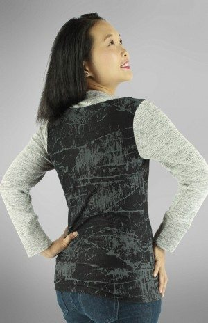 Irena Knit Top PDF Sewing Pattern Back