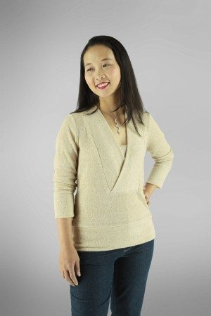 Irena Knit Top PDF Sewing Pattern Front