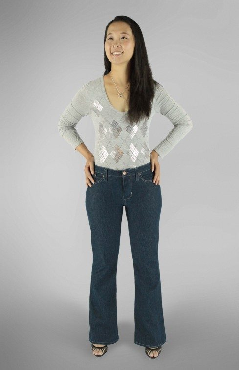Liana Stretch Jeans PDF Sewing Pattern Boot Leg Option