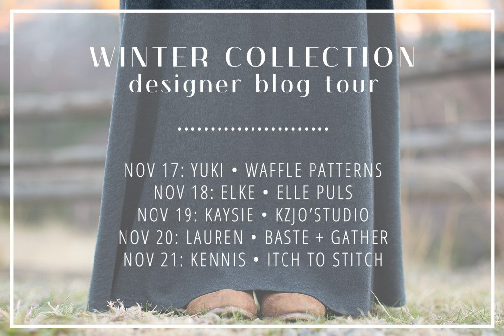 Indiesew Winter Collection 2016 Blog Tour