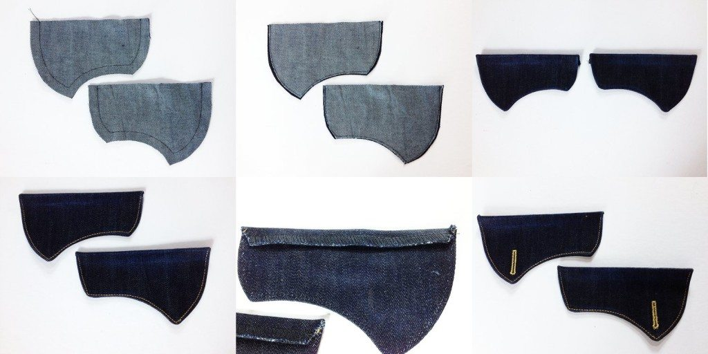 Liana Stretch Jeans Sewalong Day 6 The making of the Back Pocket Flaps