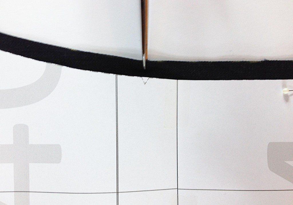 Liana Stretch Jeans Sewalong Day 3 Transfer markings