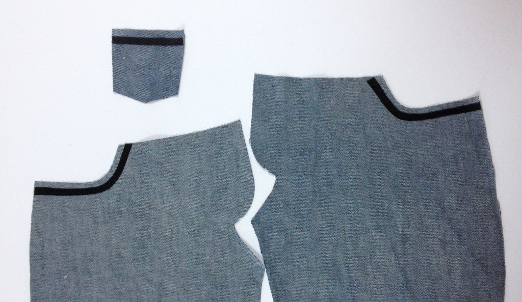 Liana Stretch Jeans Sewalong Day 6 Apply fusible stay tapes