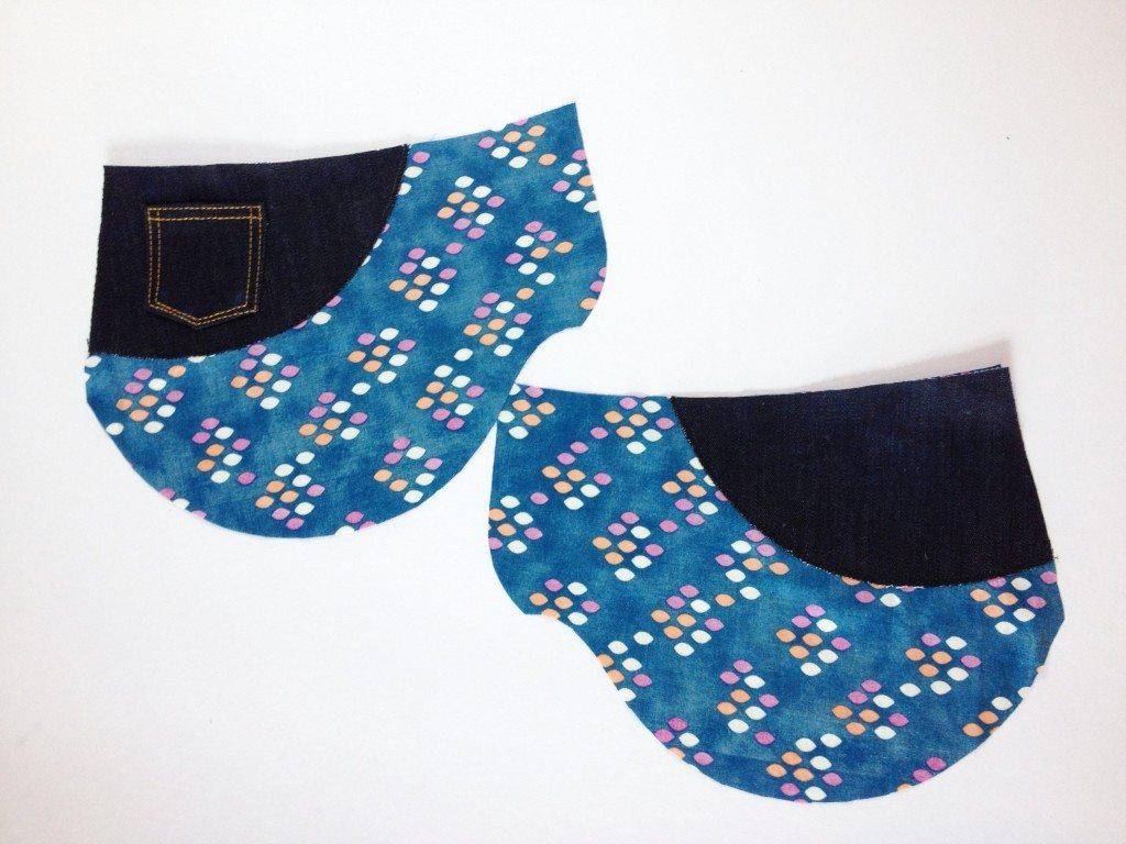 Liana Stretch Jeans Sewalong Day 7 Stitch Pocket Yoke to Pocket