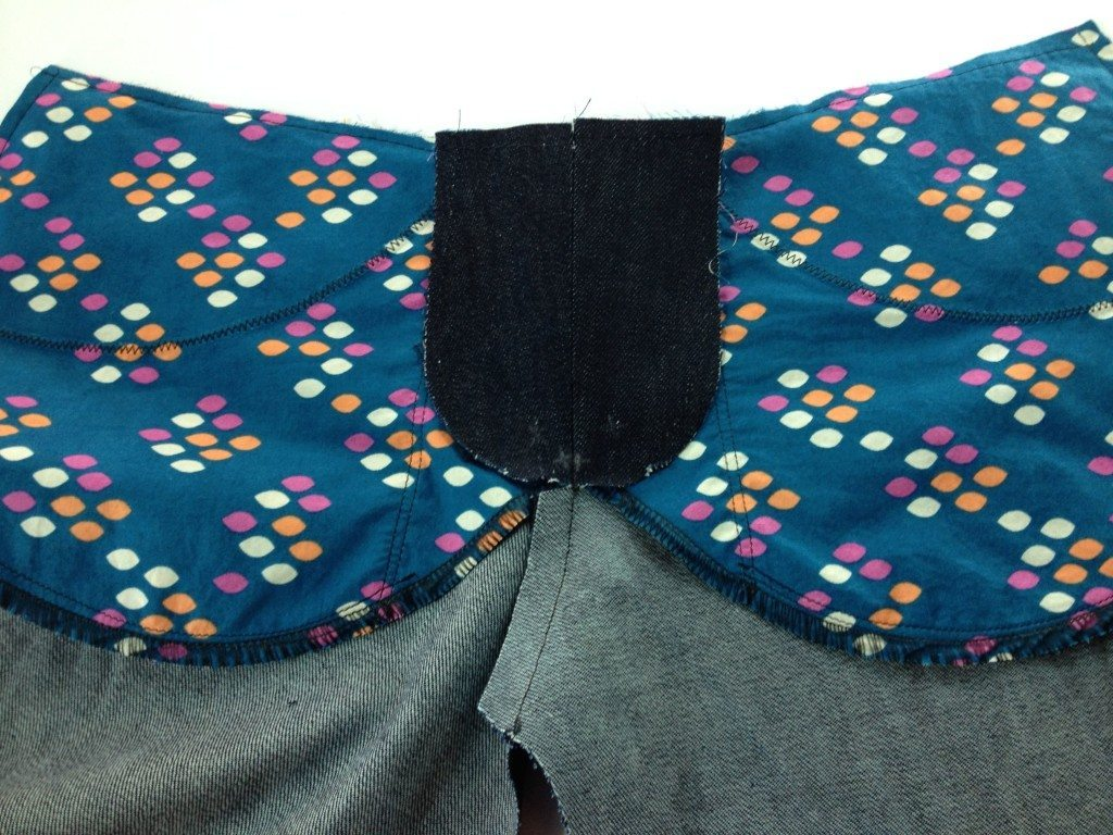 Liana Stretch Jeans Sewalong Day 8 Clip Press fly