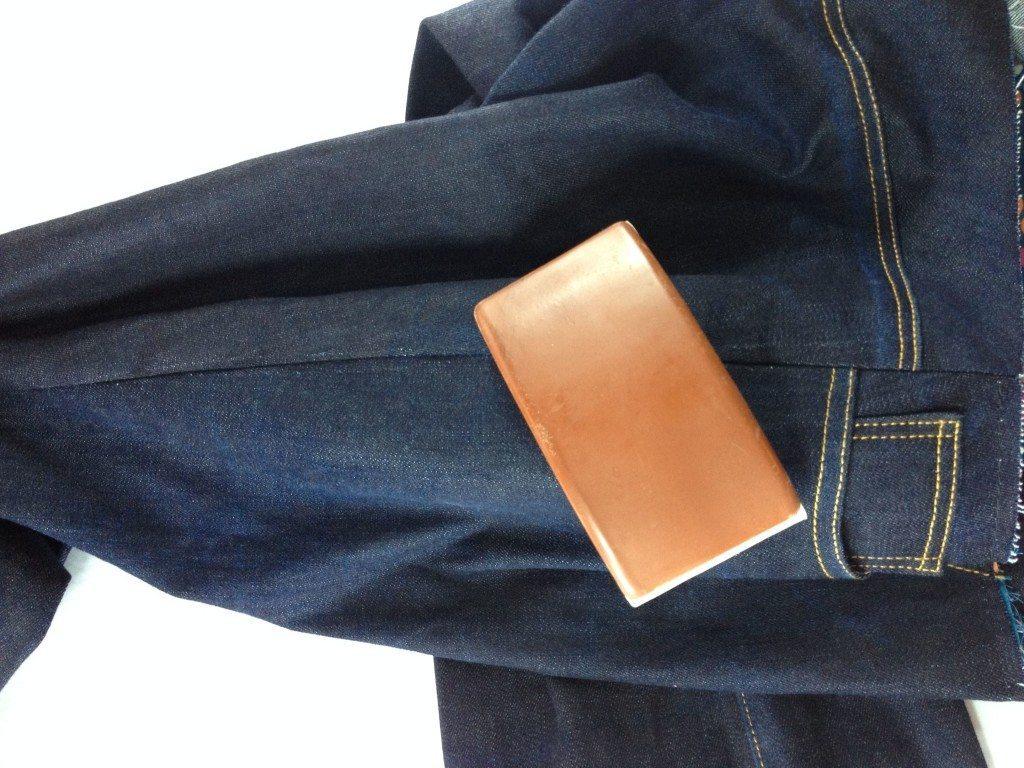 Liana Stretch Jeans Sewalong Day 9 Sew side seams
