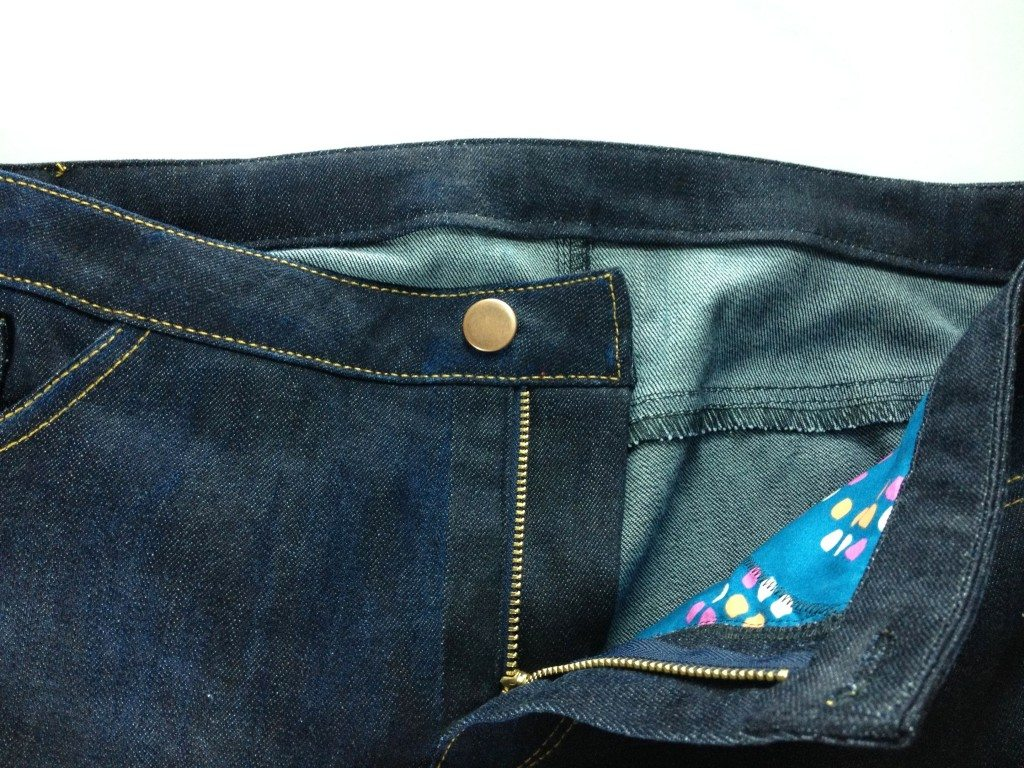 Liana Stretch Jeans Sewalong Day 9 Hammer In