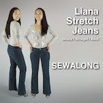 Liana Stretch Jeans Sew-along 150x150