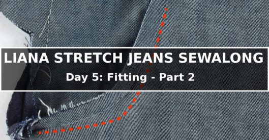 Liana Stretch Jeans Sewalong Day 5