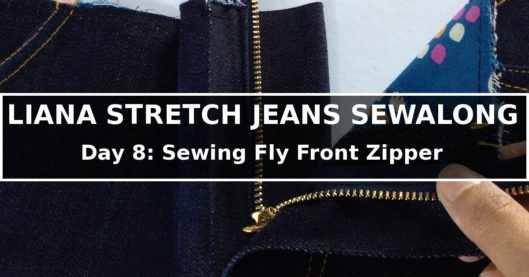Liana Stretch Jeans Sewalong Day 8
