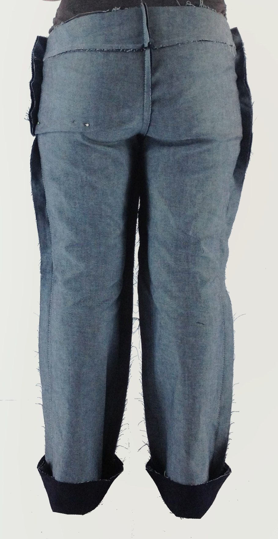 Liana Stretch Jeans Sewalong Day 5 Low Seat