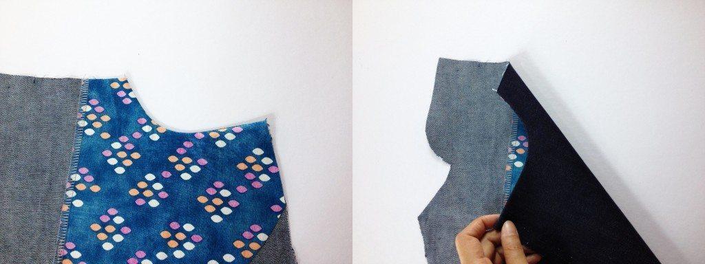 Liana Stretch Jeans Sewalong Day 6 Turn pocket
