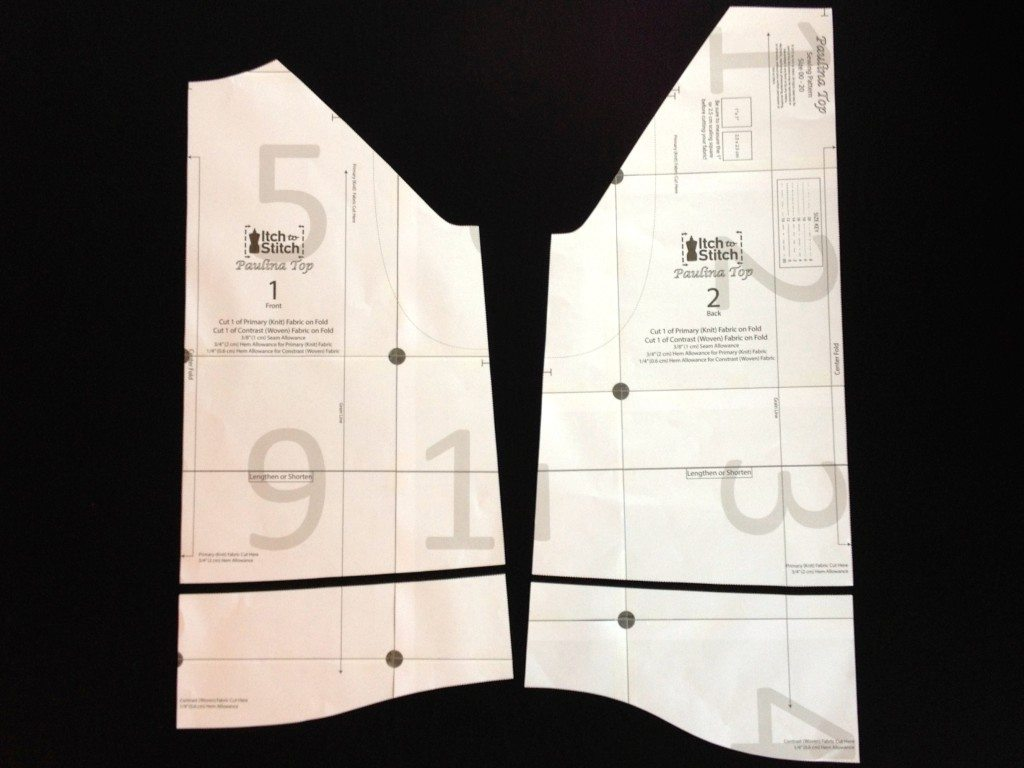Discard the lower portion with the shirttail hem