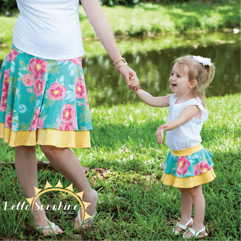 Bella Sunshine Designs' original Kelly's Twirly Skirt