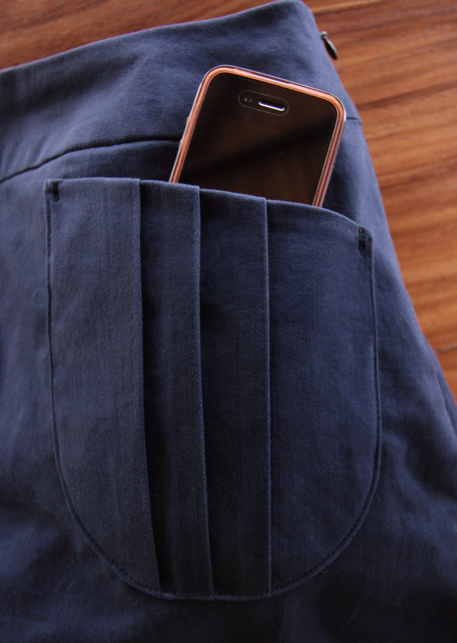 Tutorial & Free Pattern: Pleated Patch Pocket - Itch To Stitch