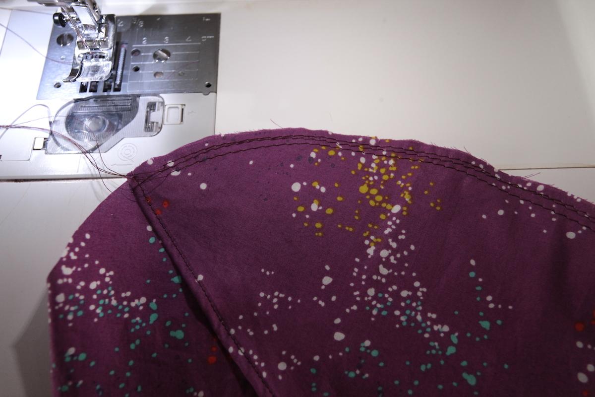 Hacking the Zamora Blouse - Petal Sleeves