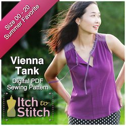 Itch to Stitch Vienna Tank Ad 250 x 250