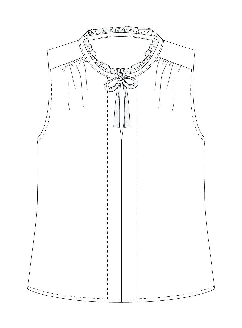 Vienna Tank Digital Sewing Pattern (PDF)