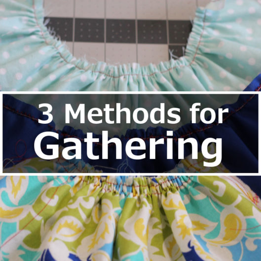 Three Methods for Gathering