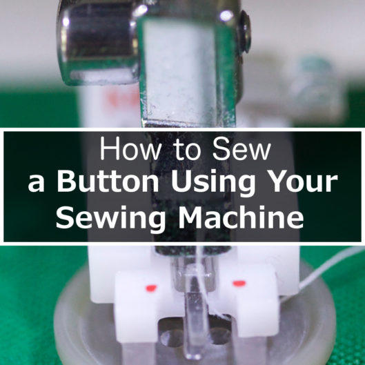 How to sew a button by machine1