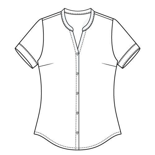 Bonn Shirt & Dress PDF Sewing Pattern - short Sleeve