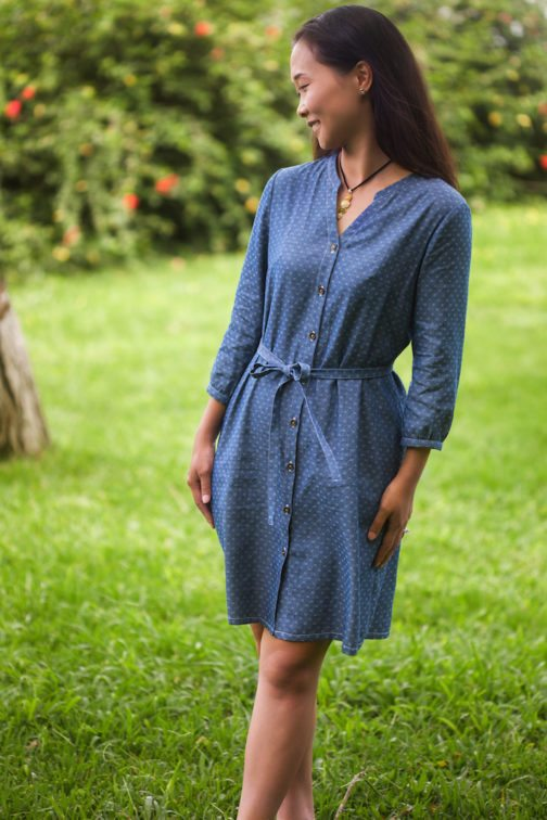Bonn Shirt & Dress PDF Sewing Pattern