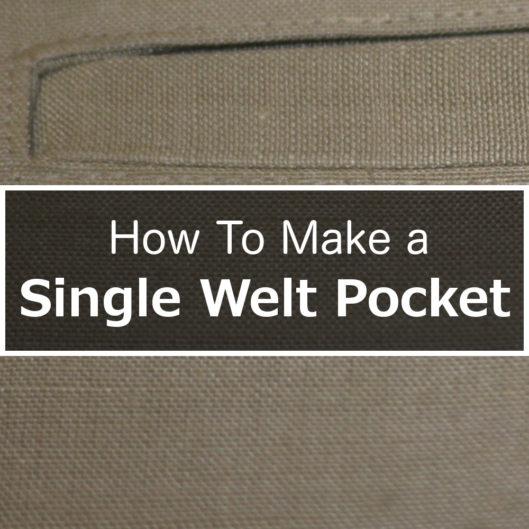 single-welt-pocket