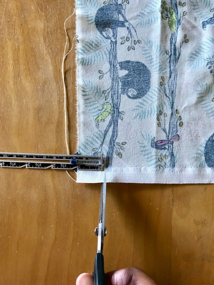 How to make fabric drawstring