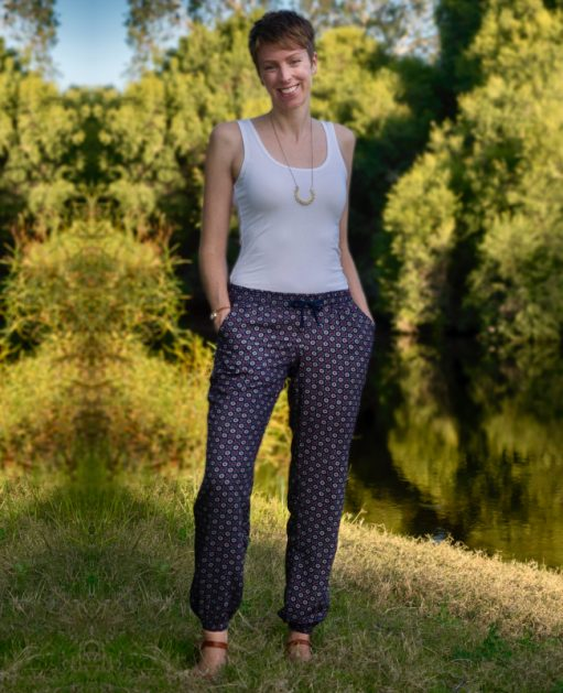 Itch to Stitch Tierras Woven Joggers PDF Sewing Pattern