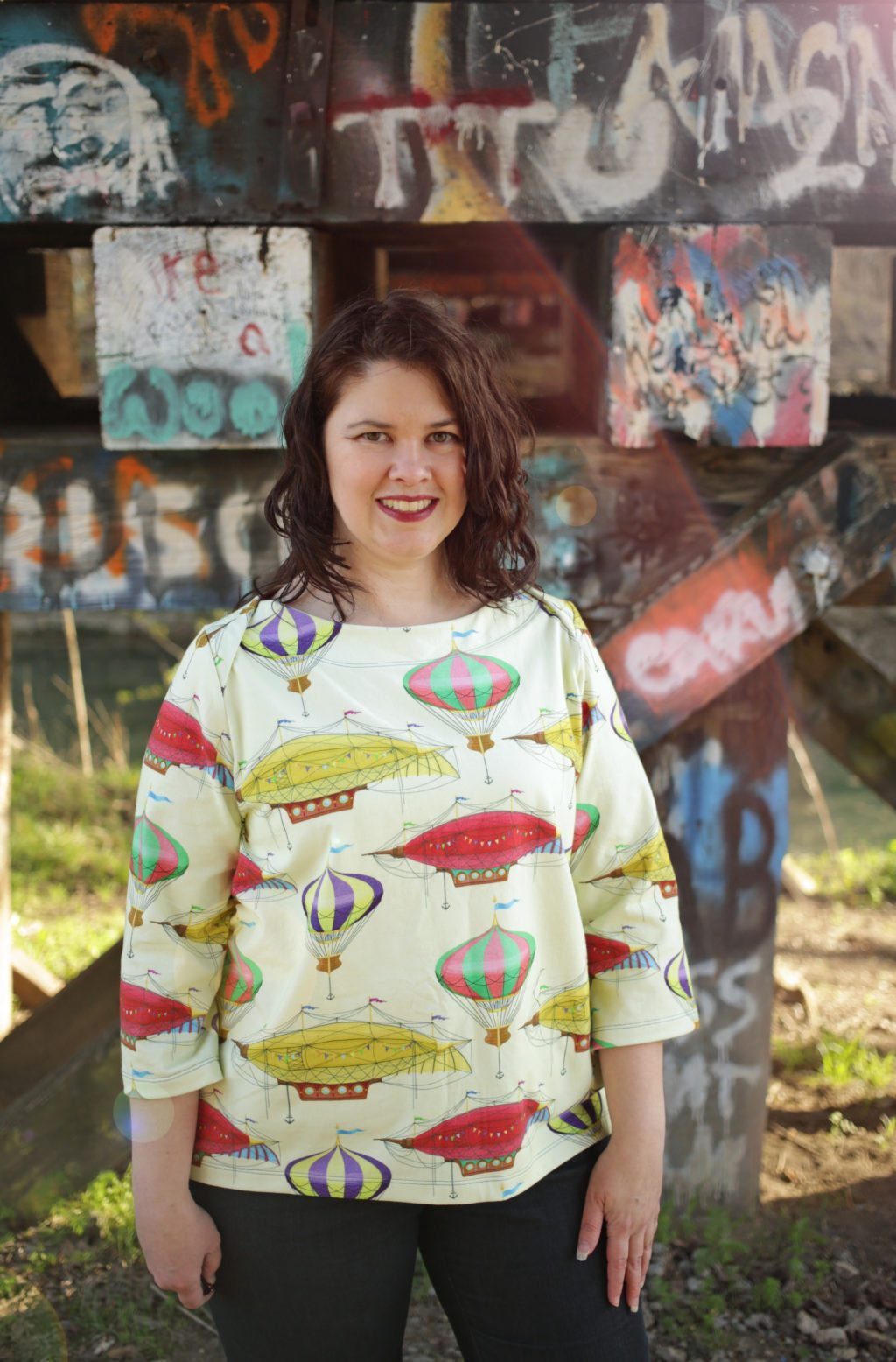 Itch to Stitch Newport Top PDF Sewing Pattern