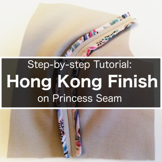Hong Kong Seam Finish Part 2