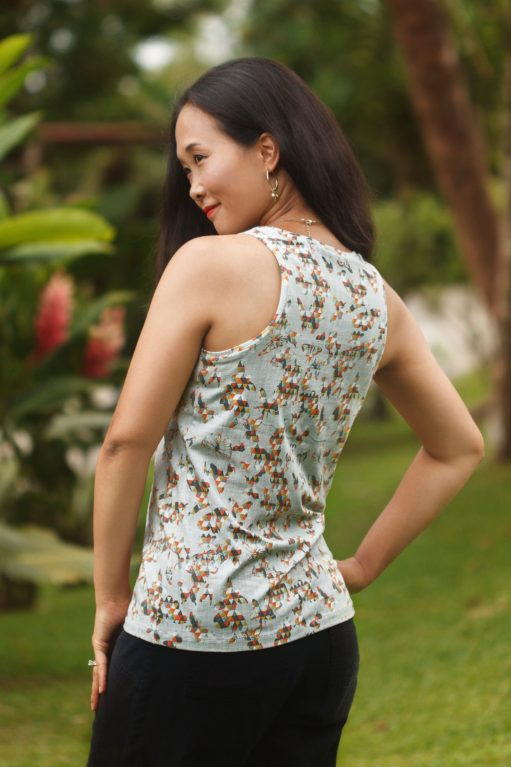 Itch to Stitch Lago Tank