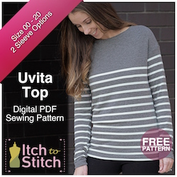 Uvita Top Free Pattern