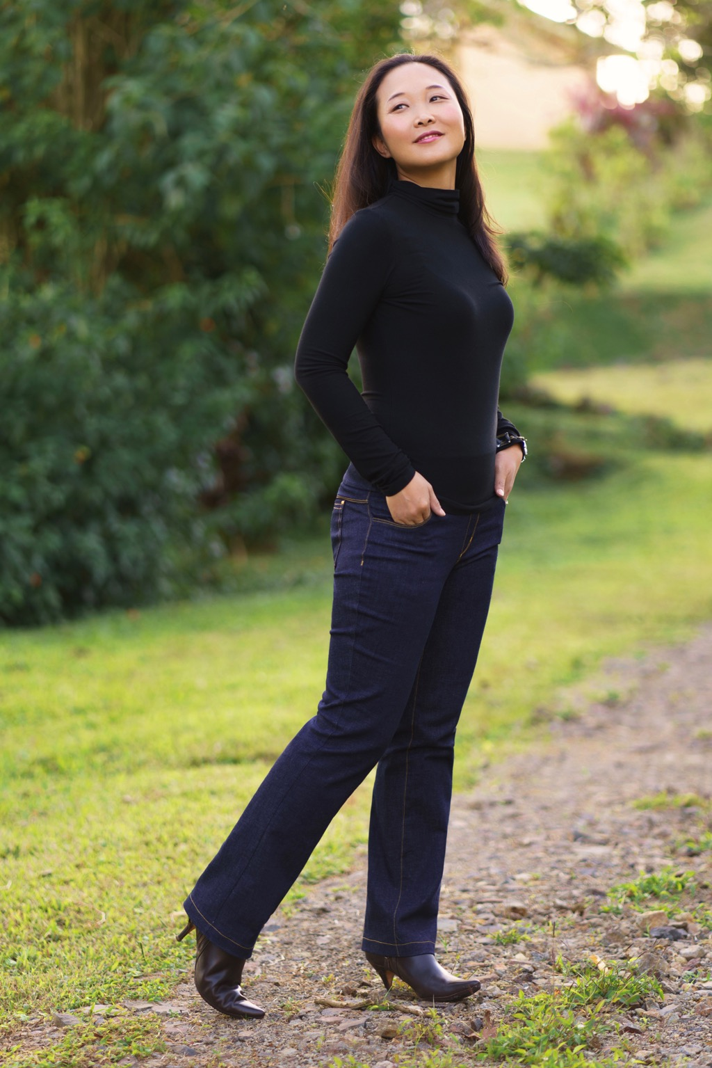 Itch to Stitch Mountain View Pull-on Jeans PDF Sewing Pattern